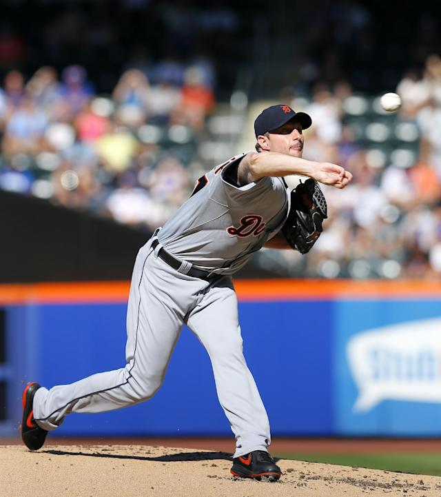Scherzer outpitches Harvey as Tigers beat Mets 3-0