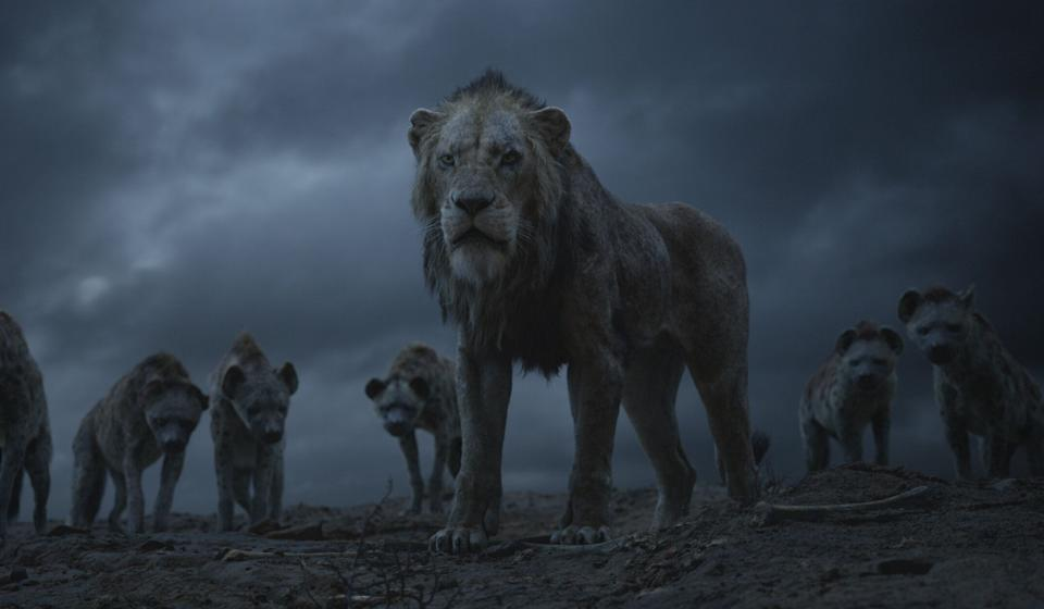 """Scar and the hyenas in """"The Lion King."""" (Photo: Disney)"""