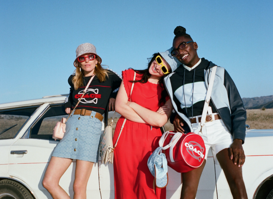 Coach just added hundreds of new items to its Memorial Day Sale. Image via Coach.