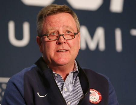 Sep 25, 2017; Park City, UT, USA; USOC chief executive officer Scott Blackmun during the 2018 U.S. Olympic Team media summit at the Grand Summit Hotel. Jerry Lai-USA TODAY Sports