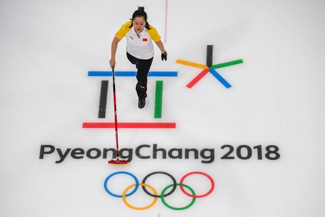 "Just say ""the Winter Olympics in South Korea."" (FRANCOIS-XAVIER MARIT via Getty Images)"