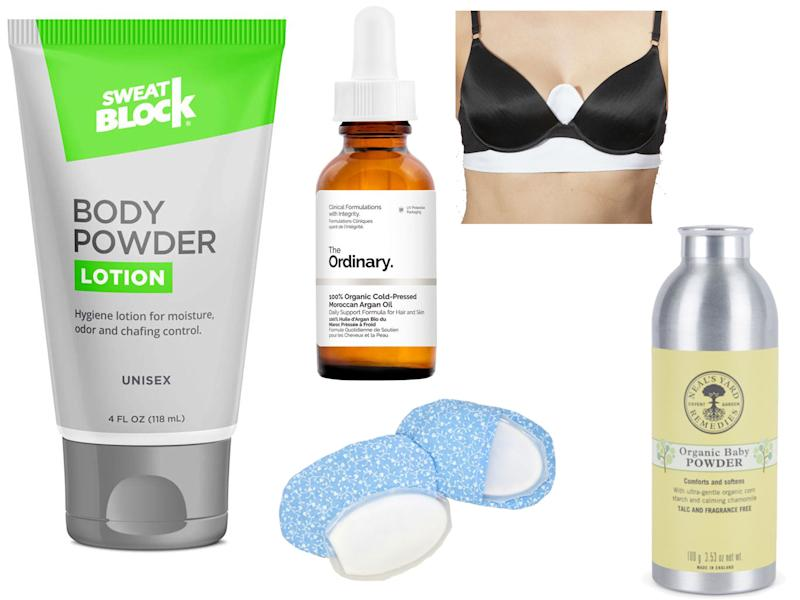 These products will help to banish the underboob sweat this summer