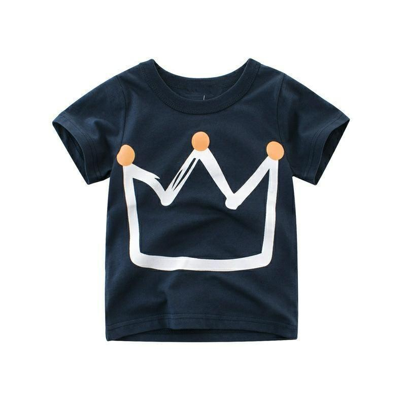"""<p><strong>D. Darlyng & Co</strong></p><p>D. Darlyng & Co</p><p><strong>$14.99</strong></p><p><a href=""""https://www.darlyngandco.com/collections/t-shirt/products/crew-neck-short-sleeve-toddler-t-shirt"""" rel=""""nofollow noopener"""" target=""""_blank"""" data-ylk=""""slk:Shop Now"""" class=""""link rapid-noclick-resp"""">Shop Now</a></p><p>They'll always know the ruler of your heart with this crown toddler t-shirt. It comes in navy blue and gray. </p>"""
