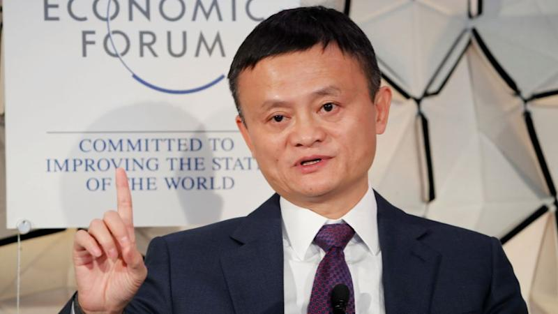 Jack Ma, chairman of Alibaba Group attends the World Economic Forum (WEF) annual meeting in Davos, Switzerland, January 23, 2019.
