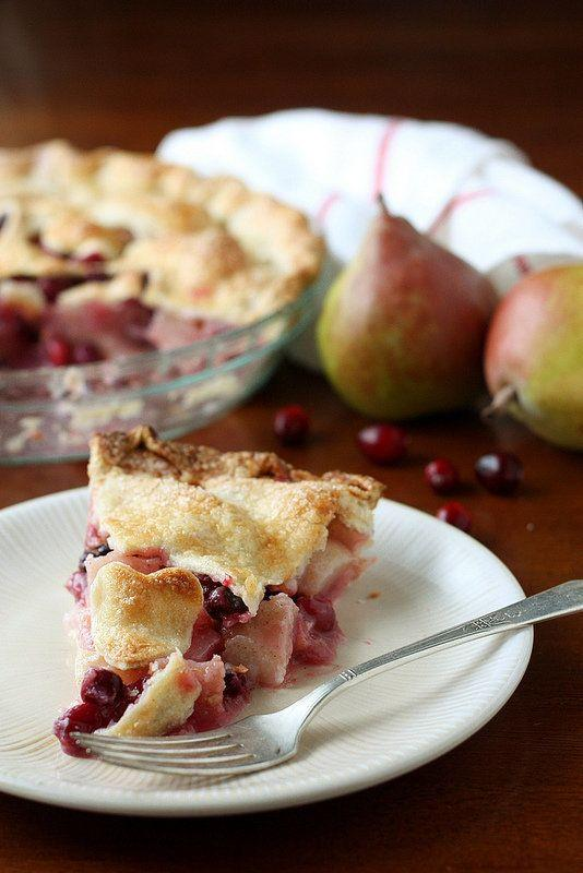 "<strong>Get the recipe for <a href=""http://www.completelydelicious.com/cranberry-pear-pie/"" target=""_blank"">Cranberry Pear Pie</a> from Completely Delicious</strong>"