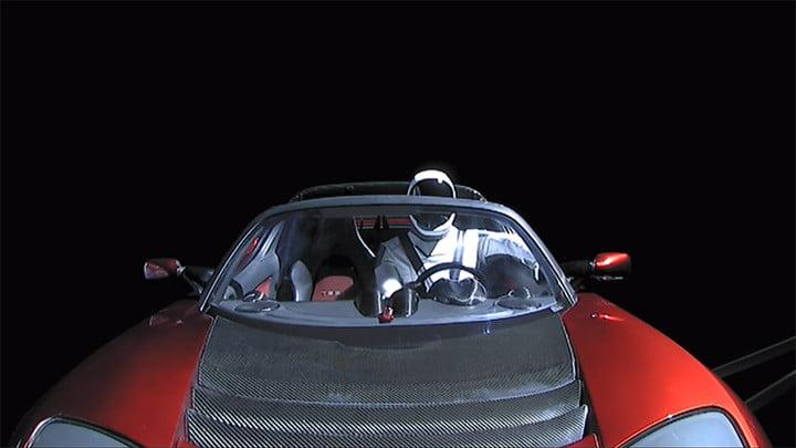 elon musk starman space adventure spacex tesla