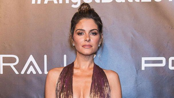 PHOTO: Host Maria Menounos arrives at Gabrielle's Angel Foundation's Angel Ball 2017 at Cipriani Wall Street, Oct. 23, 2017 in New York City. (Gilbert Carrasquillo/Getty Images)