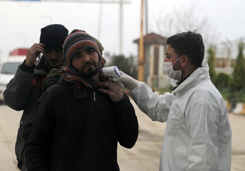 Syria, insisting it is coronavirus-free, takes broad steps to prevent spread
