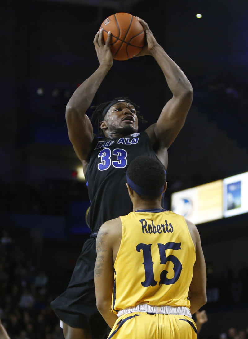 cozy fresh a85a3 ce053 Perkins leads No. 25 Buffalo to 80-57 win over Kent State