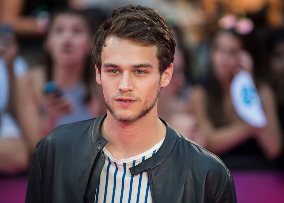 Brandon Flynn arrives at the iHeartRadio Much Music Video Awards on Sunday, June 18, 2017, in Toronto, Canada. (Photo by Arthur Mola/Invision/AP)