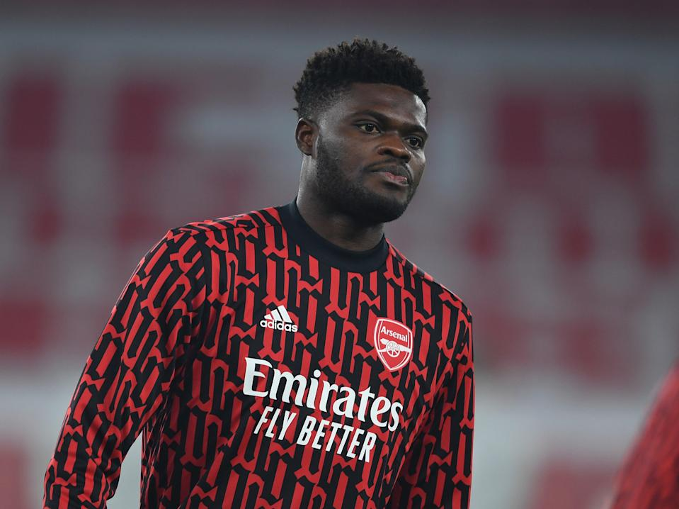 Thomas Partey joined Arsenal from Atletico Madrid this year (Arsenal FC via Getty Images)