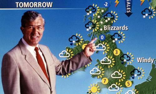 Former BBC weatherman Bill Giles
