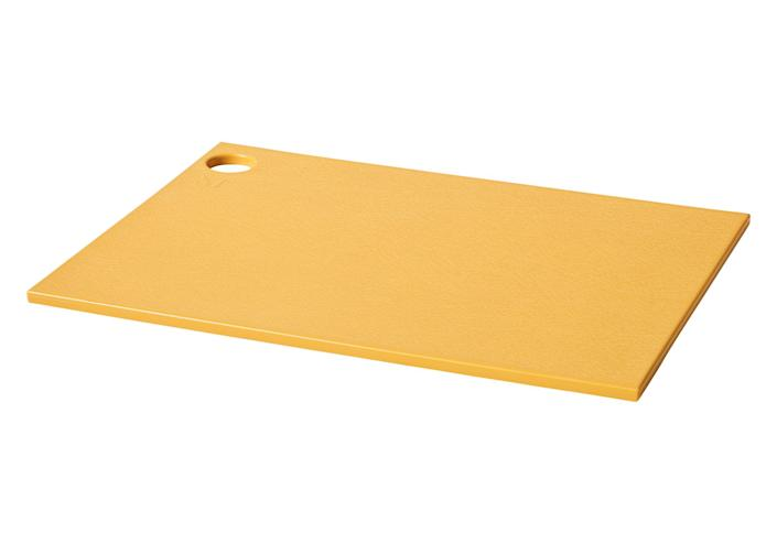 """<p>There's more than one reason the colorful plastic cutting boards sell out so often. Made from recycled materials, they are light but sturdy enough to stay put as you chop, are gentle on blades and won't warp in the dishwasher.</p> <p><strong>Buy it!</strong> $35; <a href=""""https://shareasale.com/r.cfm?b=539935&u=1772040&m=76897&urllink=https%3A%2F%2Fmaterialkitchen.com%2Fproducts%2Fthe-reboard&afftrack=PEOIntroducingPEOPLEsProductsWorththeHypein2021khogan1271StyGal12821774202107I"""" rel=""""sponsored noopener"""" target=""""_blank"""" data-ylk=""""slk:materialkitchen.com"""" class=""""link rapid-noclick-resp"""">materialkitchen.com</a></p>"""