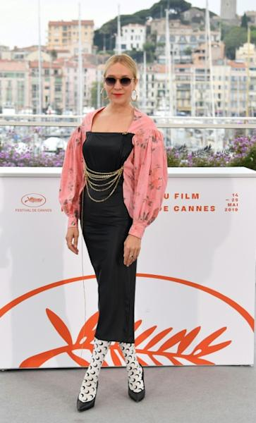 US actress Chloe Sevigny cemented her avant guarde cred by supporting the cutting-edge Parisian designer Marine Serre