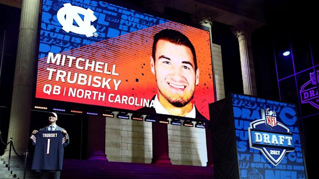 Pace offered two reasons for the head-scratching move to trade up in order to select the former UNC QB at No. 2.