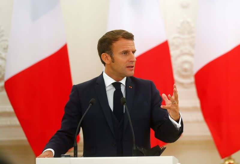 Europe is 'screwed' if its parliament sits only in Brussels, says Macron