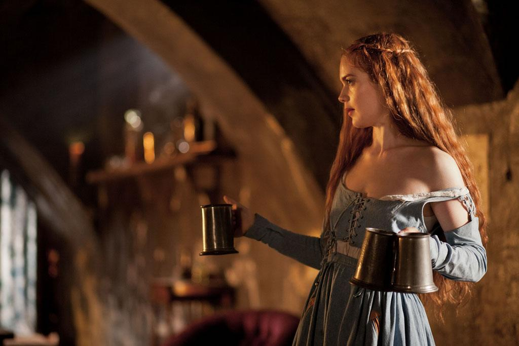 "Vanessa (Hera Hilma) in ""Da Vinci's Demons"" on Starz."
