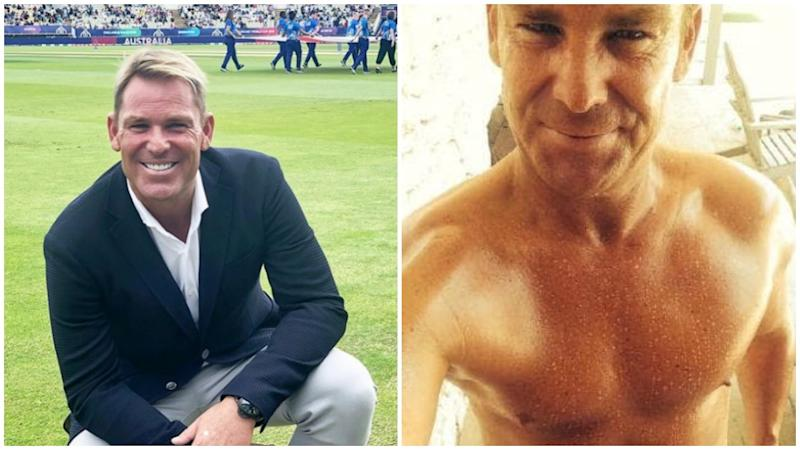 Cricketer Shane Warne has revealed the secret behind his recent weight loss. Photo: Instagram/shanewarne23/