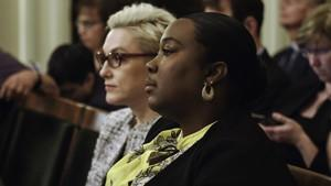 """Kelli Dillon, right, and Cynthia Chandler in the documentary """"Belly of the Beast."""""""