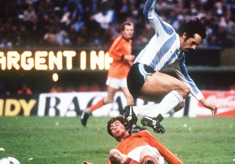 Leopoldo Luque Erny Brandts Argentina Netherlands 1978 FIFA World Cup final