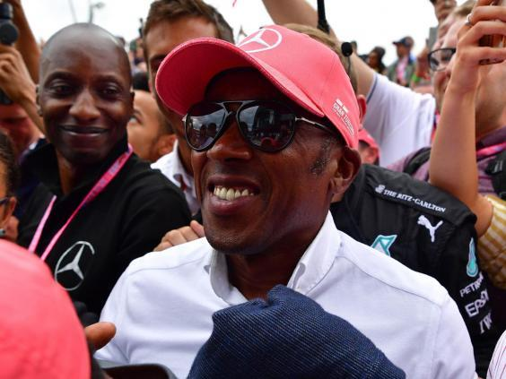 Lewis Hamilton's father, Anthony, said he would feel uncomfortable watching his son race while coronavirus still affects the world (AFP via Getty Images)