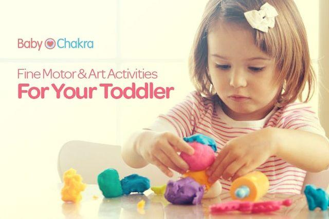 How To Develop Your Child's Brain at 21 Months: Fine Motor And Art