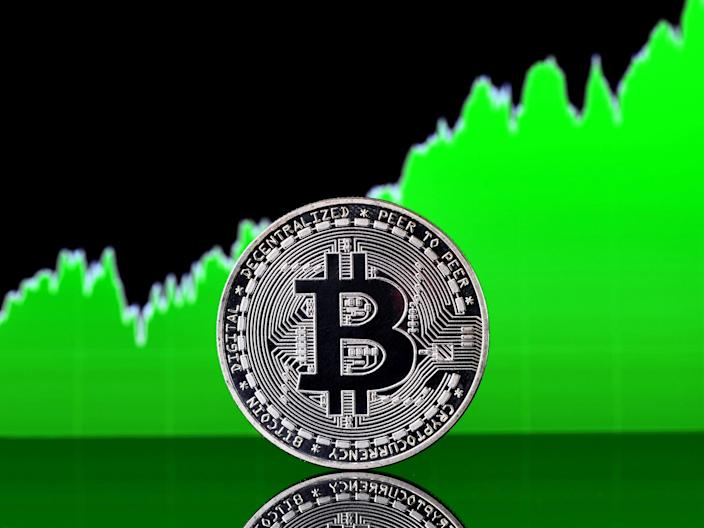 <p>Bitcoin has rebounded in price at the start of June 2021 after a devastating month in May</p> (Getty Images)