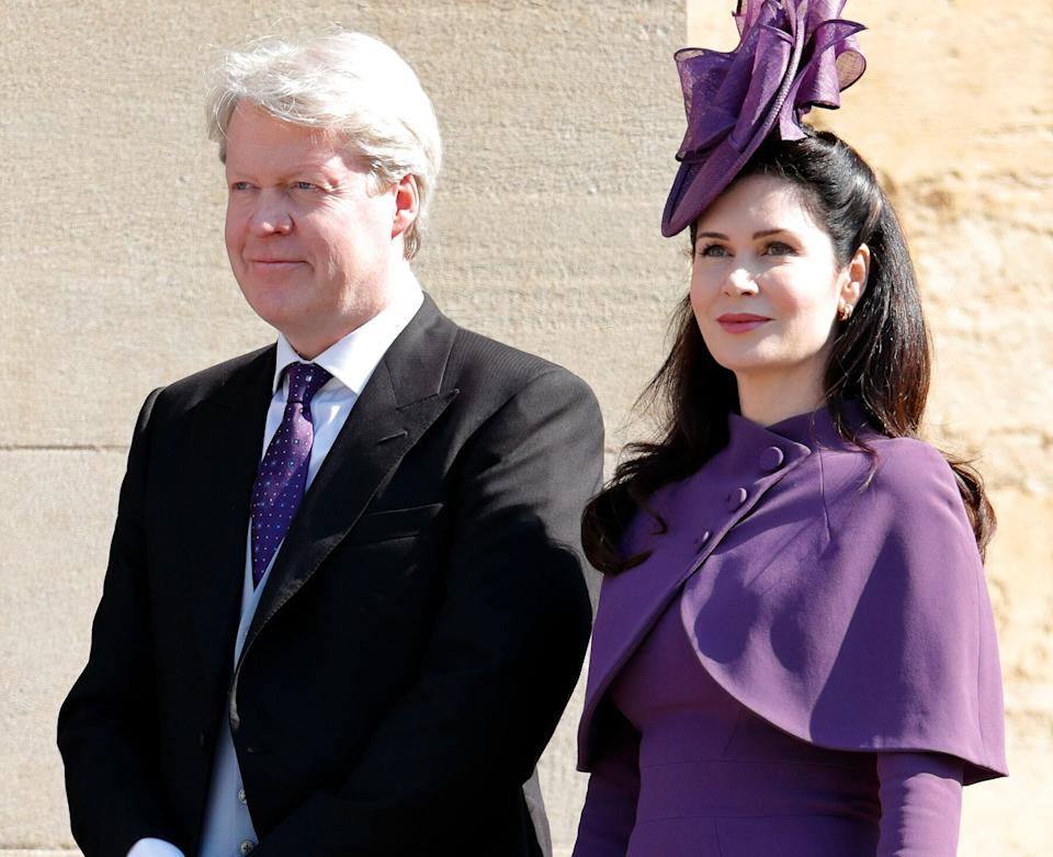 Earl Charles Spencer and Countess Karen Spencer at Prince Harry and Meghan Markle's wedding on May 19, 2018. (Photo: Max Mumby/Indigo via Getty Images)
