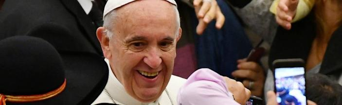 Pope Francis. File photo