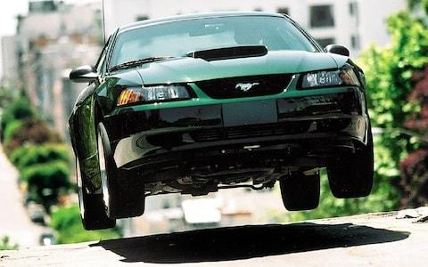 Andrew English in Ford Mustang Bullitt vcelebration - Credit: Charlie Magee