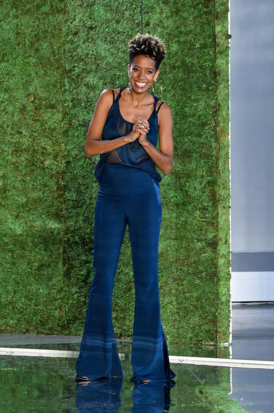 """<p><strong>Brand</strong>: Cushnie</p><p>Designer Carly Cushnie's sleek styles have been worn by the likes of Jennifer Lopez, Ashley Graham, and Lupita Nyong'o, btw. Her streamlined silhouettes and luxe fabrics combined make real """"wow"""" pieces in your closet. </p>"""