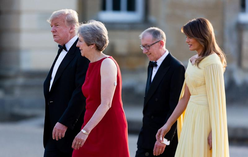 Trump scuppers trade deal with United Kingdom  under May's Brexit