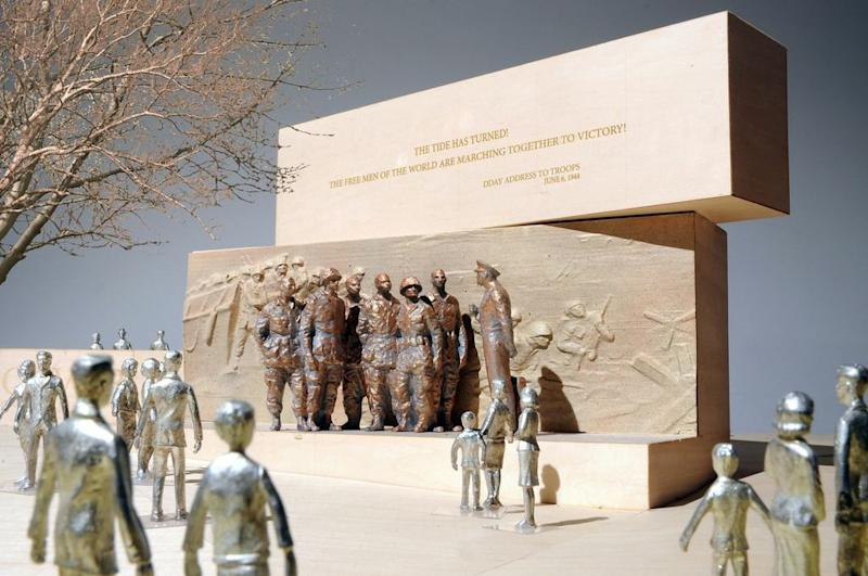 Gehry refines design for Eisenhower Memorial in DC