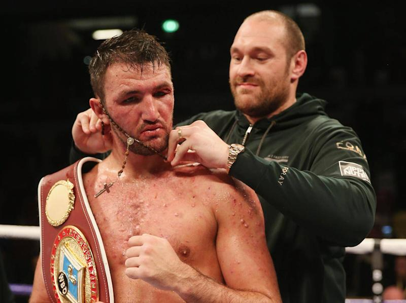 Both Tyson and Hughie Fury tested positive for nandrolone (Getty)