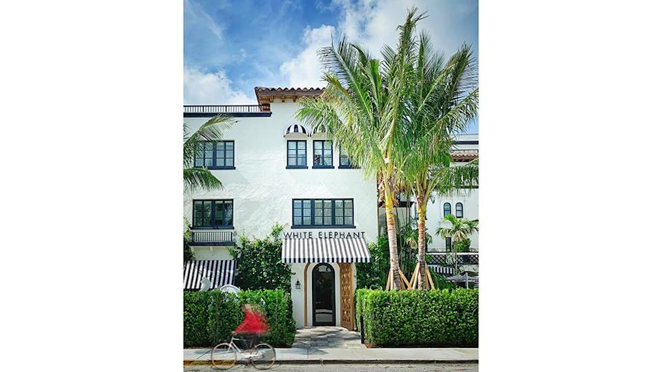 The entrance and exterior of the White Elephant. - Credit: White Elephant Palm Beach