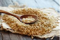 """<p>Speaking of fiber, people who eat a fiber-rich diet are around 20% less likely to die from colon cancer compared to those who don't get much roughage, a <a href=""""https://jamanetwork.com/journals/jamaoncology/fullarticle/2661061"""" rel=""""nofollow noopener"""" target=""""_blank"""" data-ylk=""""slk:recent study"""" class=""""link rapid-noclick-resp"""">recent study</a> found. And brown rice is just one more yummy way to get your fill, offering 3 grams per cooked cup.</p><p><strong>Try it: </strong><a href=""""https://www.prevention.com/food-nutrition/recipes/a20482245/seafood-and-brown-rice-paella/"""" rel=""""nofollow noopener"""" target=""""_blank"""" data-ylk=""""slk:Seafood and Brown Rice Paella"""" class=""""link rapid-noclick-resp"""">Seafood and Brown Rice Paella</a></p>"""