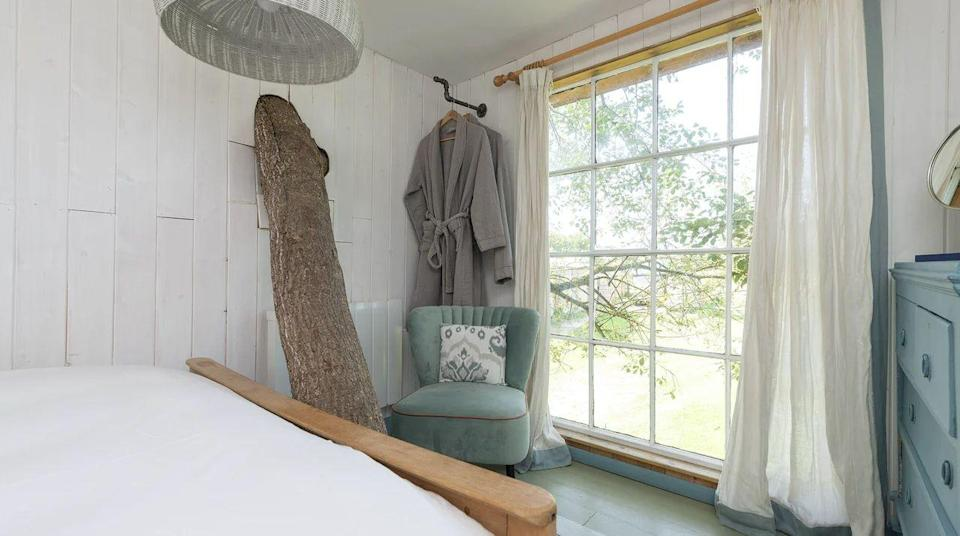 """<p>Always wanted to sleep in the treetops? At this treehouse in the Somerset countryside, you'll sleep among the branches in a cosy retreat for one or two. Climbing stairs is part of the package but once you're up there, you can watch the wispy clouds roll over the idyllic surroundings from your secret window.</p><p>If you're after a nature-inspired unique place to stay without roughing it, Wild Strawberry comes with a cosy nook for breakfast, mighty branches that twist through its spaces and high quality bedding and darkening shades you'd find at a hotel.</p><p><strong>Sleeps: </strong>2</p><p><strong>Available from:</strong> <a href=""""https://go.redirectingat.com?id=127X1599956&url=https%3A%2F%2Fwww.plumguide.com%2Fhomes%2F29722%2Fwild-strawberry&sref=https%3A%2F%2Fwww.menshealth.com%2Fuk%2Fadventure%2Fg36954308%2Funique-places-to-stay-uk%2F"""" rel=""""nofollow noopener"""" target=""""_blank"""" data-ylk=""""slk:Plum Guide"""" class=""""link rapid-noclick-resp"""">Plum Guide</a></p><p><strong>Price: </strong>Two nights from £235</p><p><a class=""""link rapid-noclick-resp"""" href=""""https://go.redirectingat.com?id=127X1599956&url=https%3A%2F%2Fwww.plumguide.com%2Fhomes%2F29722%2Fwild-strawberry&sref=https%3A%2F%2Fwww.menshealth.com%2Fuk%2Fadventure%2Fg36954308%2Funique-places-to-stay-uk%2F"""" rel=""""nofollow noopener"""" target=""""_blank"""" data-ylk=""""slk:CHECK AVAILABILITY"""">CHECK AVAILABILITY</a></p>"""