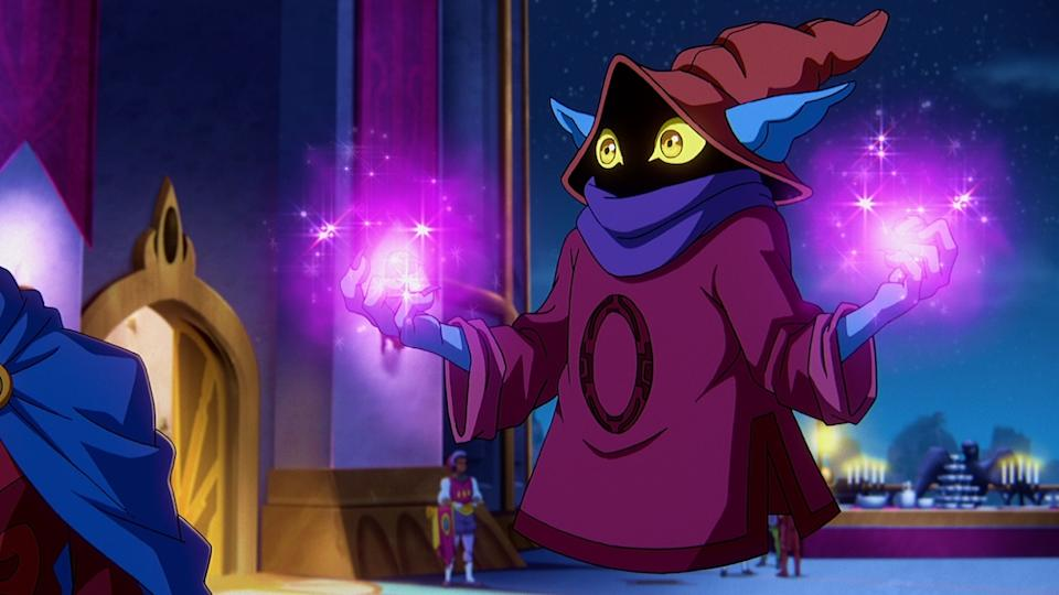 Orko (Griffin Newman) in Masters of the Universe: Revelation. (Netflix)