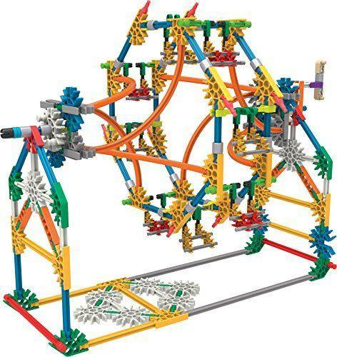 """<p><strong>K'NEX</strong></p><p>amazon.com</p><p><strong>$33.89</strong></p><p><a href=""""https://www.amazon.com/dp/B01B55C2CC?tag=syn-yahoo-20&ascsubtag=%5Bartid%7C10055.g.29419638%5Bsrc%7Cyahoo-us"""" rel=""""nofollow noopener"""" target=""""_blank"""" data-ylk=""""slk:Shop Now"""" class=""""link rapid-noclick-resp"""">Shop Now</a></p><p>With this building set, your kids can use gears, connectors, and rods of all different shapes and sizes to <strong>experiment with building three different amusement park rides</strong>. There are step-by-step instructions on how to build a swing, ferris wheel and boom ride. It even comes with a battery-powered motor to make the rides move. <em>Ages 8+</em></p>"""
