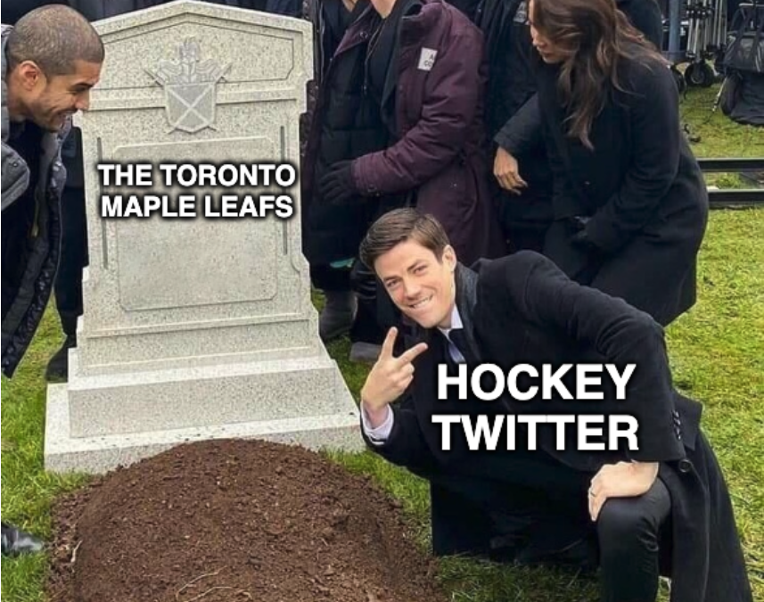 Maple Leafs fans and haters alike took to Hockey Twitter in droves following the Canadiens' Game 7 win on Monday. (Yahoo Sports Canada)