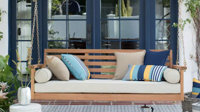 Hayneedle has the largest selection of outdoor living furniture.
