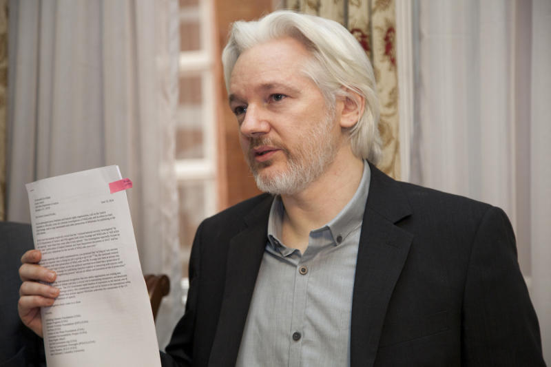 WikiLeaks: Ecuador says it blocked Assange's internet over U.S. election meddling