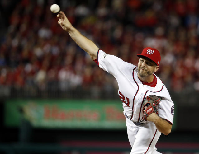 The Nationals have locked up Brandon Kintzler for two years. (AP Photo)