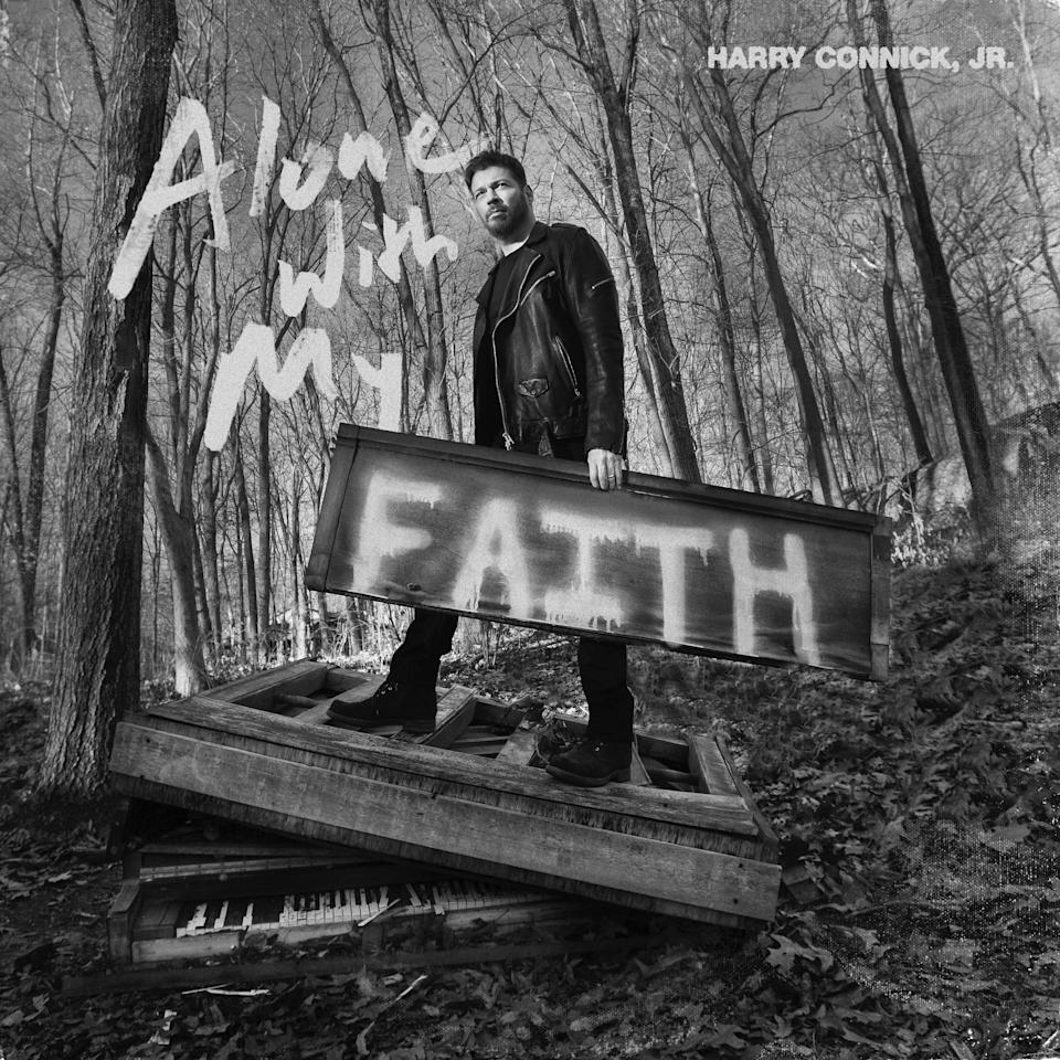 """Harry Connick Jr. record his new album """"Alone with My Faith"""" entirely by himself at his home studio."""