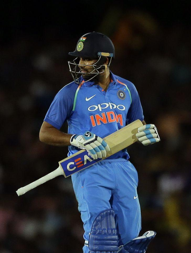 <p><strong>1.</strong> Rohit Sharma has totalled 285 runs, including a fifty, at an average of 14.25 in 22 ODIs in Sri Lanka. He could amass just 37 runs in his last ten innings in Sri Lanka — the sequence being 4, 0, 11, 5, 5, 0, 0, 4, 4 & 4. </p>