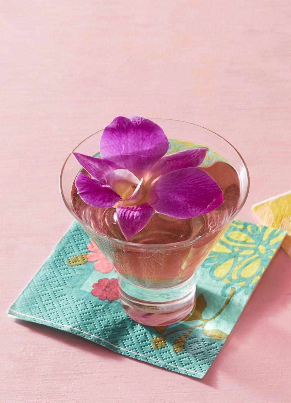 """<p>It doesn't get prettier than this spring cocktail. Flavored with elderflower liqueur and hibiscus rose syrup, it's a great floral sip for Easter.</p><p><a href=""""https://www.thepioneerwoman.com/food-cooking/recipes/a32303615/butterfly-martini-recipe/"""" rel=""""nofollow noopener"""" target=""""_blank"""" data-ylk=""""slk:Get the recipe."""" class=""""link rapid-noclick-resp""""><strong>Get the recipe.</strong></a></p><p><a class=""""link rapid-noclick-resp"""" href=""""https://go.redirectingat.com?id=74968X1596630&url=https%3A%2F%2Fwww.walmart.com%2Fsearch%2F%3Fquery%3Dmartini%2Bglasses&sref=https%3A%2F%2Fwww.thepioneerwoman.com%2Ffood-cooking%2Fmeals-menus%2Fg35585877%2Feaster-recipes%2F"""" rel=""""nofollow noopener"""" target=""""_blank"""" data-ylk=""""slk:SHOP MARTINI GLASSES"""">SHOP MARTINI GLASSES</a></p>"""