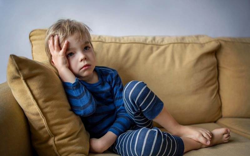 'We recognise anxiety more than we used to,' says child psychologist, Dr Mike Shooter - Moment RF