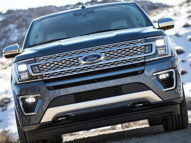 Ford Expedition 2018 front view
