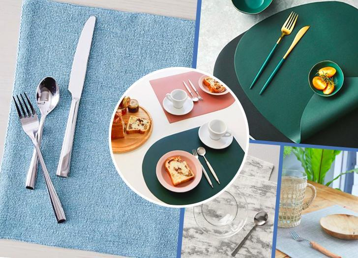 The 21 Best Placemats To Dress Up Your Dining Space And Protect Your Dining Table