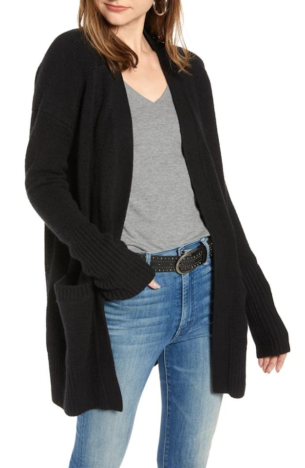 """<p>This <a href=""""https://www.popsugar.com/buy/Treasure-amp-Bond-Throw--Cotton-amp-Wool-Blend-Cardigan-483724?p_name=Treasure%20%26amp%3B%20Bond%20Throw-On%20Cotton%20%26amp%3B%20Wool%20Blend%20Cardigan&retailer=shop.nordstrom.com&pid=483724&price=89&evar1=fab%3Aus&evar9=46534481&evar98=https%3A%2F%2Fwww.popsugar.com%2Fphoto-gallery%2F46534481%2Fimage%2F46534489%2FTreasure-Bond-Throw-On-Cotton-Wool-Blend-Cardigan&list1=shopping%2Cnordstrom%2Cfall%20fashion%2Cfall%2Csustainable%20fashion&prop13=api&pdata=1"""" rel=""""nofollow"""" data-shoppable-link=""""1"""" target=""""_blank"""" class=""""ga-track"""" data-ga-category=""""Related"""" data-ga-label=""""https://shop.nordstrom.com/s/treasure-bond-throw-on-cotton-wool-blend-cardigan/5204465?origin=category-personalizedsort&amp;breadcrumb=Home%2FSustainable%20Style&amp;color=red%20syrah"""" data-ga-action=""""In-Line Links"""">Treasure &amp; Bond Throw-On Cotton &amp; Wool Blend Cardigan</a> ($89) will be a Fall staple.</p>"""